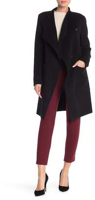 Soia & Kyo Drape Collar Wool Blend Coat