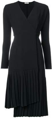 P.A.R.O.S.H. asymmetric pleated hem dress