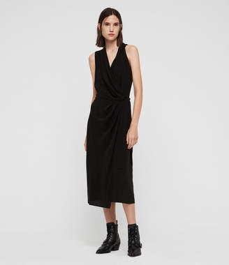AllSaints Syrah Long Dress