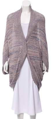 Halston Short Sleeve Knit Cardigan