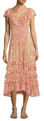 Rebecca Taylor Margo Ruffle Dress