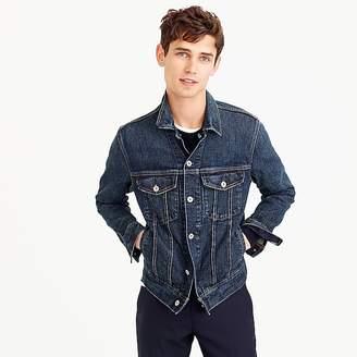 Stretch denim jacket $118 thestylecure.com