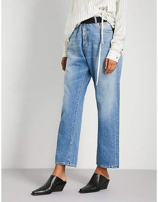 Unravel Baggy Boy wide high-rise jeans