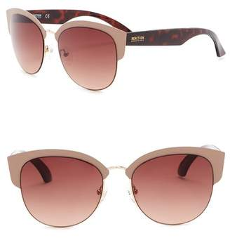 Kenneth Cole Reaction 55mm Clubmaster Sunglasses