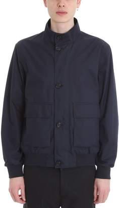 Ermenegildo Zegna Blue Technical Fabric Jacket