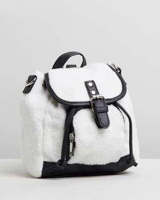 Missguided Faux Fur Backpack