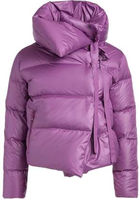 Puffa Bacon Clothing Bacon Purple Down Jacket