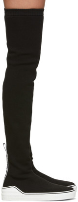 Givenchy Black George V Over-The-Knee Boots