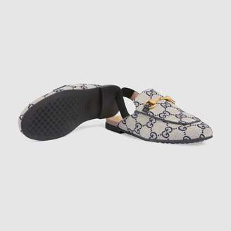 Gucci Children's Princetown GG canvas slipper