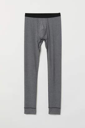 H&M Thermal Long Johns - Black