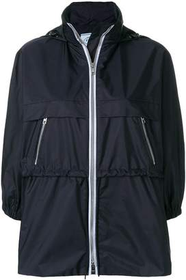 Prada funnel neck nylon jacket