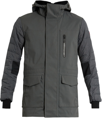 CANADA GOOSE Selwyn down-filled hooded coat $468 thestylecure.com