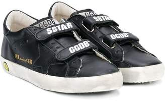 Golden Goose Kids touch fastening sneakers