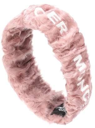 Moncler Shearling headband