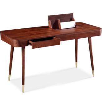 Apt2B Teller Desk WALNUT