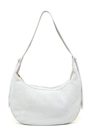 Elizabeth and James Zoe Large Suede Leather Hobo
