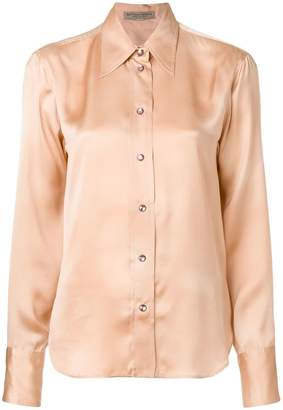 Bottega Veneta crystal button shirt