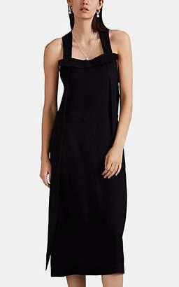 Rag & Bone Women's Adrian Button-Detailed Midi-Dress - Black