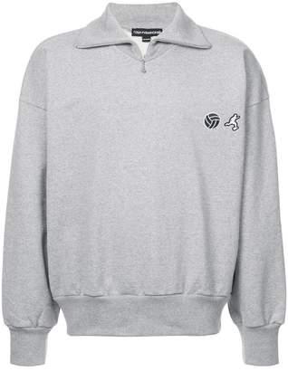 Gosha Rubchinskiy logo embroidered sweatshirt