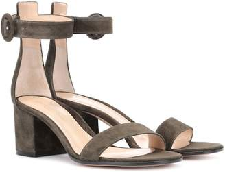 Gianvito Rossi Exclusive to mytheresa.com – Versilia 60 suede sandals