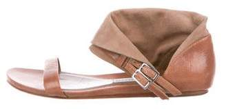 Camilla Skovgaard Leather Foldover Sandals
