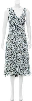Proenza Schouler Printed Sleeveless Dress