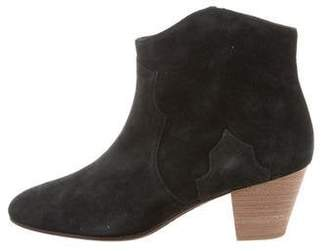 2fcd3cca085e Etoile Isabel Marant Dicker Suede Ankle Boots w/ Tags