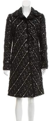 Marc Jacobs Embellished Tweed Coat w/ Tags