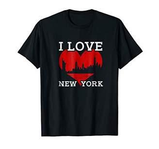 I Love New York T Shirt I Heart NYC Gift Tee