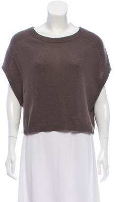 360 Cashmere Cashmere Knit Cropped Top