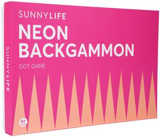 Sunnylife Backgammon Lucite Set
