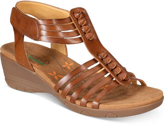Bare Traps Hinder Wedge Sandals $59 thestylecure.com