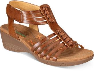 Bare Traps Hinder Wedge Sandals Women's Shoes $59 thestylecure.com