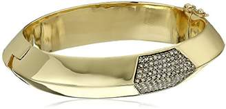 House Of Harlow Modern Revival Hinged Cuff Bracelet