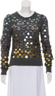 Marc Jacobs Sequin Knit Sweater
