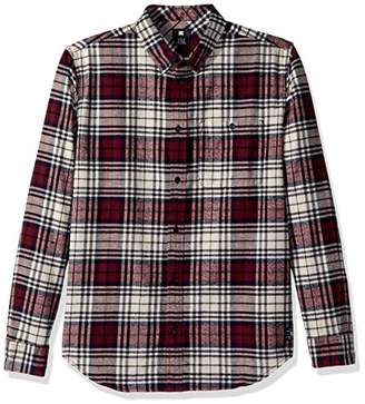 DC Men's South Ferry Long Sleeve Flannel Shirt