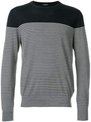 Z Zegna striped sweater