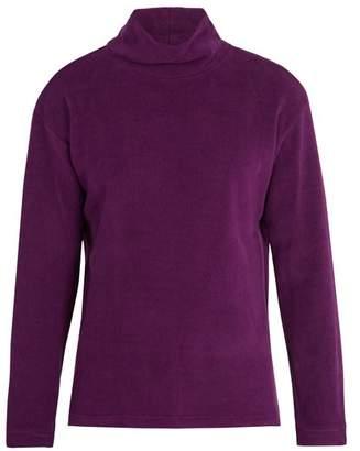 Sies Marjan - Roll Neck Cotton Blend Chenille Sweatshirt - Mens - Purple