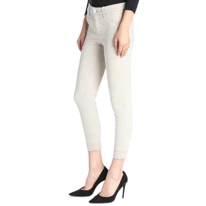 Winter Beige Anja Cropped Skinny Stretch Jeans