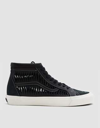 Vans Vault By Twisted Leather SK8-Hi Reissue LX Sneaker in Black/Marshmallow