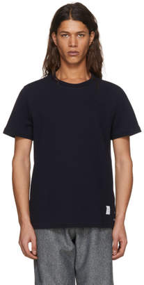 Thom Browne Navy Relaxed Fit T-Shirt