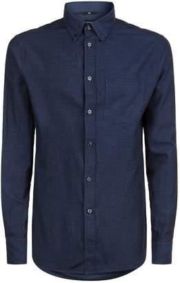 J. Lindeberg Daniel Flannel Twill Shirt