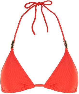 Heidi Klein Rope Tie Triangle Bikini Top