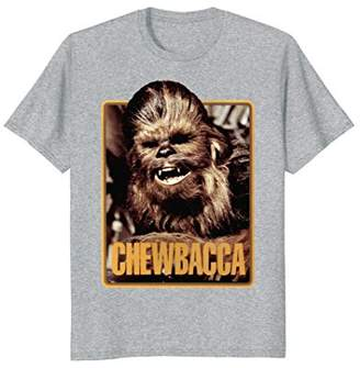 Star Wars Chewbacca Vintage Trading Card Retro T-Shirt