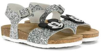 Moa Kids Mickey Mouse Applique sandals