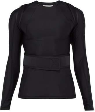 Gmbh - Harness Strap Compression T Shirt - Mens - Black
