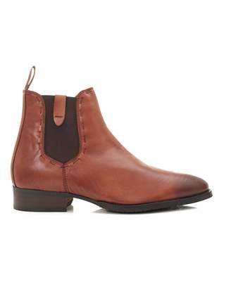 Sandro Paolo Vandini Stitch Detail Chelsea Boots