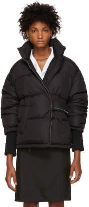 Prada Black Short Zipped Down Jacket