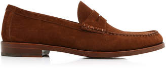 Ralph Lauren Samwell Suede Penny Loafers
