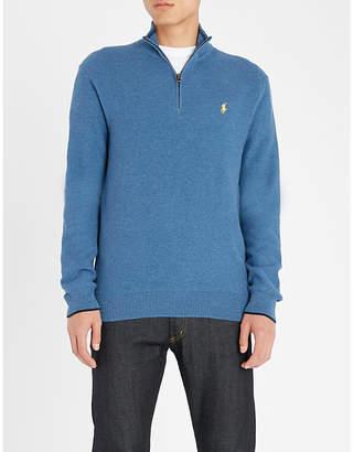 Polo Ralph Lauren Funnel-neck cashmere jumper